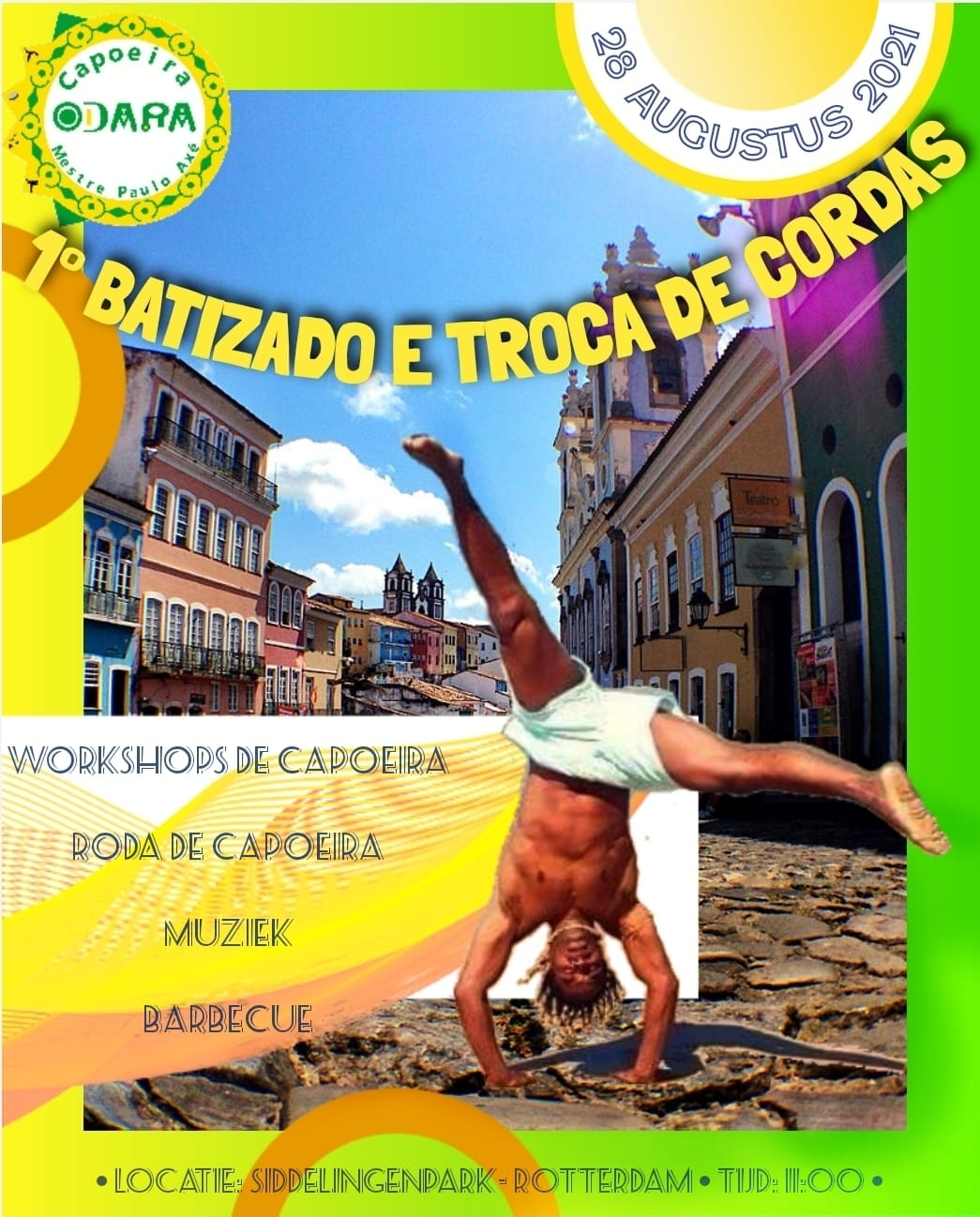 Workshop Capoeira Odara